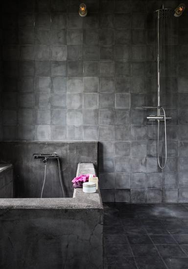 carreaux ciment noir marseille
