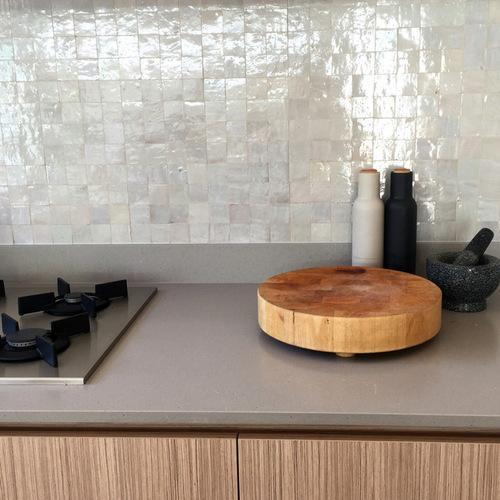 zellige credence de cuisine. Black Bedroom Furniture Sets. Home Design Ideas