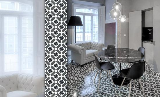 carreaux ciment motifs. Black Bedroom Furniture Sets. Home Design Ideas