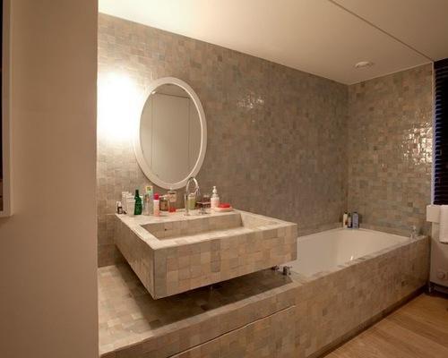 Salle De Bain Zellige Noir: Zellige salle de bain. Salle de bain ...