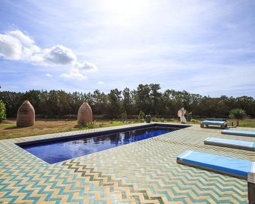 zellige cote -piscine