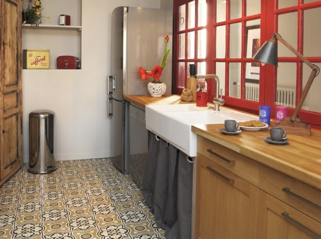 Maison deco for Carreaux ciment unis