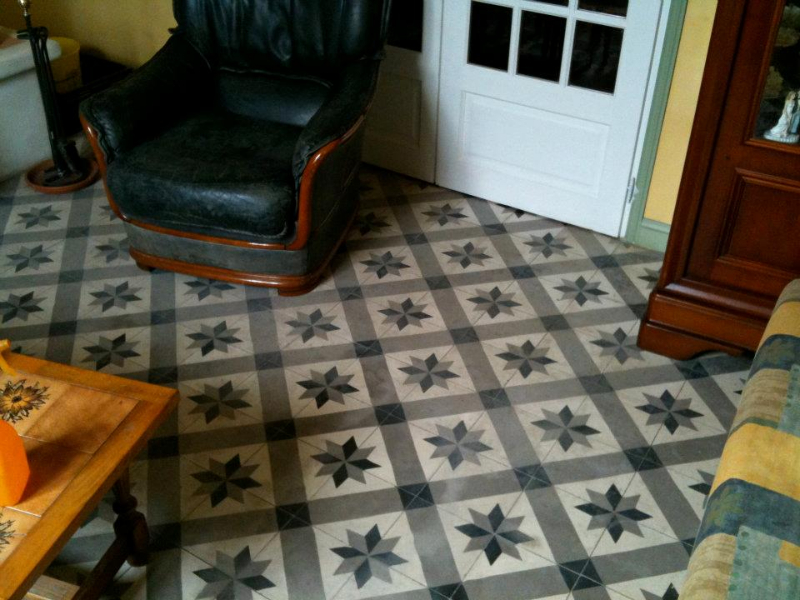 sol carreaux ciment. Black Bedroom Furniture Sets. Home Design Ideas