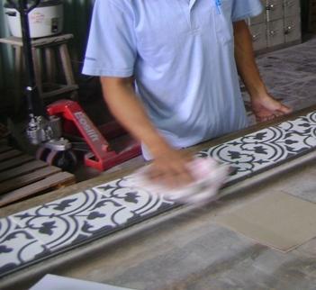 Carreaux Ciment Fabrication