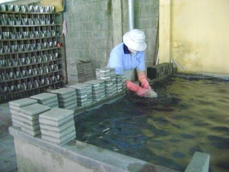 Carreaux Ciment Fabrication